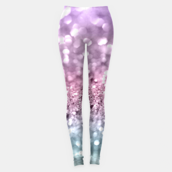 Thumbnail image of Unicorn Girls Glitter #7 #shiny #pastel #decor #art Leggings, Live Heroes