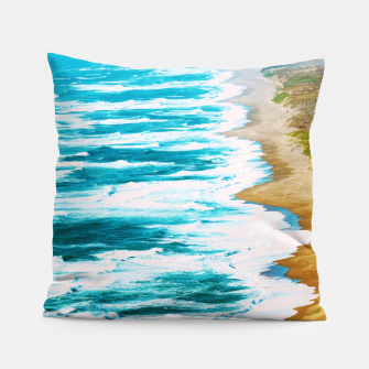Thumbnail image of Live By The Sea Pillow, Live Heroes