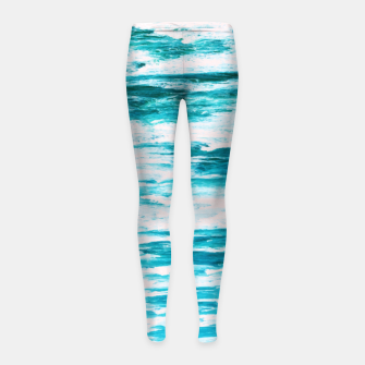 Thumbnail image of Live By The Sea Girl's leggings, Live Heroes