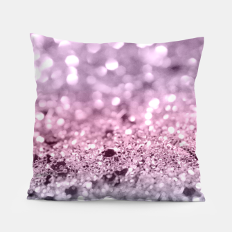 Thumbnail image of Unicorn Girls Glitter #7 #shiny #pastel #decor #art Kissen, Live Heroes