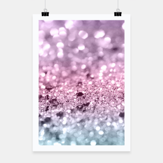 Thumbnail image of Unicorn Girls Glitter #7 #shiny #pastel #decor #art Plakat, Live Heroes