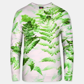 Thumbnail image of Fern Forest Cotton sweater, Live Heroes