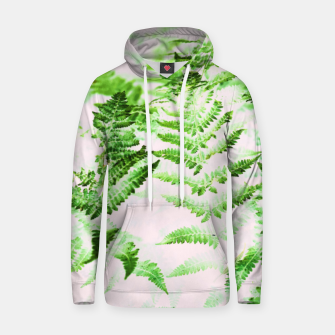 Thumbnail image of Fern Forest Cotton hoodie, Live Heroes