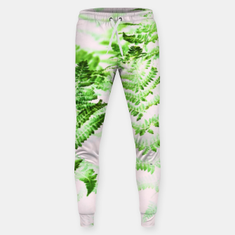 Thumbnail image of Fern Forest Cotton sweatpants, Live Heroes
