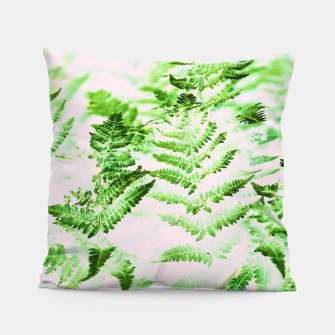 Thumbnail image of Fern Forest Pillow, Live Heroes
