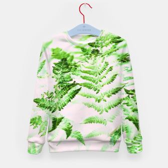 Thumbnail image of Fern Forest Kid's sweater, Live Heroes