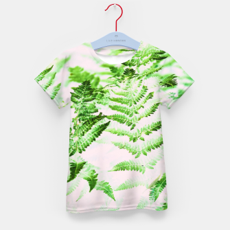 Thumbnail image of Fern Forest Kid's t-shirt, Live Heroes