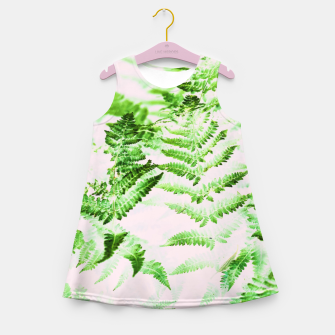 Thumbnail image of Fern Forest Girl's summer dress, Live Heroes