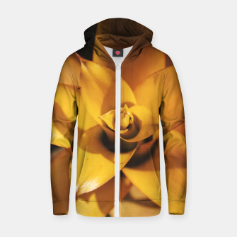 Miniature de image de Bromeliad Cotton zip up hoodie, Live Heroes