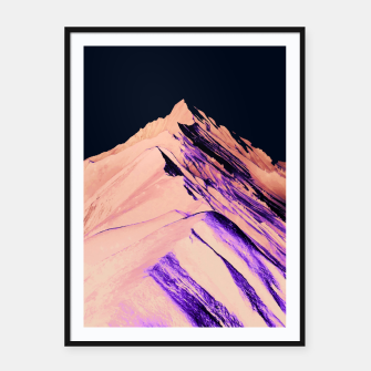 Thumbnail image of Dark Mountain Framed poster, Live Heroes