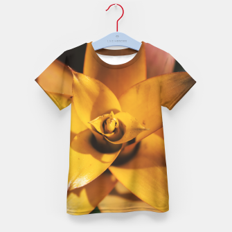 Thumbnail image of Bromeliad Kid's t-shirt, Live Heroes