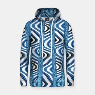 Thumbnail image of 3D Blues Cotton hoodie, Live Heroes