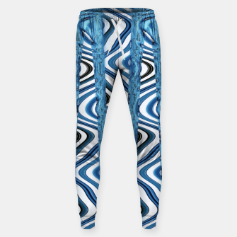 Thumbnail image of 3D Blues Cotton sweatpants, Live Heroes