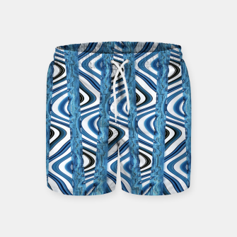 Thumbnail image of 3D Blues Swim Shorts, Live Heroes