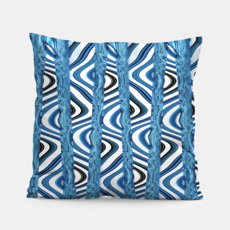 Thumbnail image of 3D Blues Pillow, Live Heroes