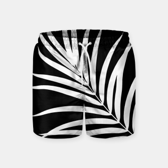 Thumbnail image of Tropical Palm Leaf #2 #botanical #decor #art Badeshorts, Live Heroes