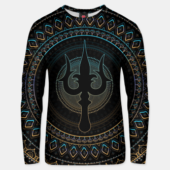 Thumbnail image of Trisula  -Trident of Shiva Cotton sweater, Live Heroes