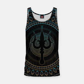 Thumbnail image of Trisula  -Trident of Shiva Tank Top, Live Heroes