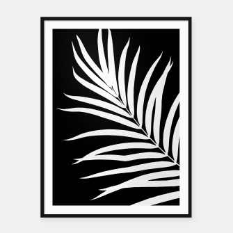 Thumbnail image of Tropical Palm Leaf #2 #botanical #decor #art Plakat mit rahmen, Live Heroes