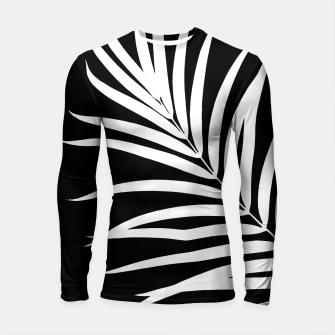 Thumbnail image of Tropical Palm Leaf #2 #botanical #decor #art Longsleeve rashguard, Live Heroes