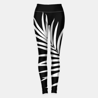 Thumbnail image of Tropical Palm Leaf #2 #botanical #decor #art Leggings, Live Heroes