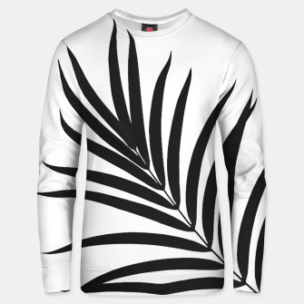 Thumbnail image of Tropical Palm Leaf #1 #botanical #decor #art Baumwoll sweatshirt, Live Heroes