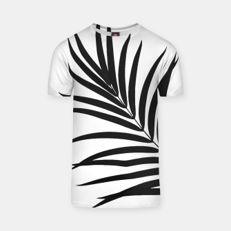 Thumbnail image of Tropical Palm Leaf #1 #botanical #decor #art T-Shirt, Live Heroes