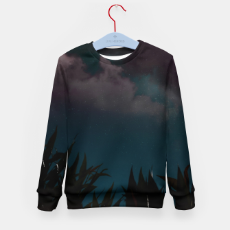 Miniatur Touching the stars Kid's sweater, Live Heroes