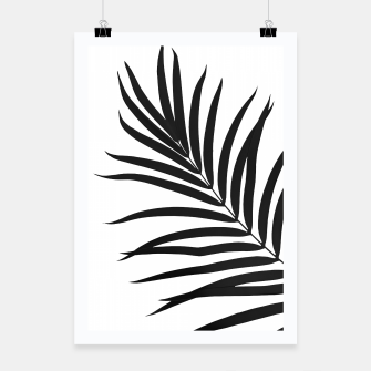 Thumbnail image of Tropical Palm Leaf #1 #botanical #decor #art Plakat, Live Heroes
