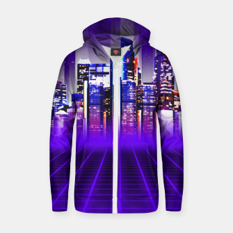Thumbnail image of Delta City Cotton zip up hoodie, Live Heroes