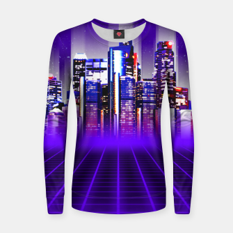 Thumbnail image of Delta City Woman cotton sweater, Live Heroes