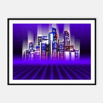Thumbnail image of Delta City Framed poster, Live Heroes