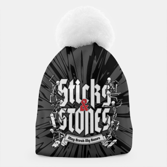 Thumbnail image of Sticks and Stones Beanie, Live Heroes