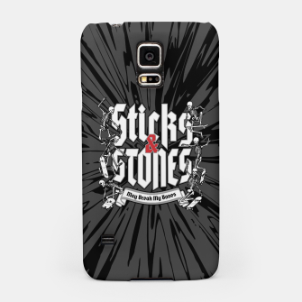 Thumbnail image of Sticks and Stones Samsung Case, Live Heroes