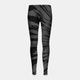Thumbnail image of Sticks and Stones Girl's leggings, Live Heroes