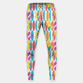 Imagen en miniatura de Mini Rainbow Colored Waikiki Surfboards  Cotton sweatpants, Live Heroes