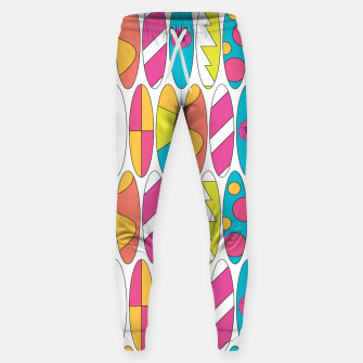 Imagen en miniatura de Rainbow Colored Waikiki Surfboards  Cotton sweatpants, Live Heroes