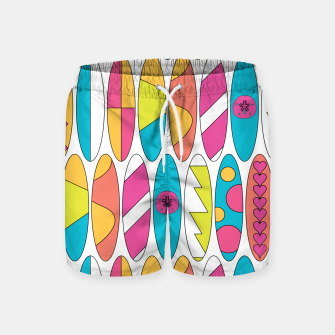 Imagen en miniatura de Rainbow Colored Waikiki Surfboards  Swim Shorts, Live Heroes