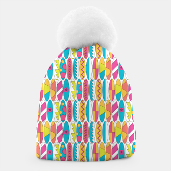 Imagen en miniatura de Mini Rainbow Colored Waikiki Surfboards  Beanie, Live Heroes
