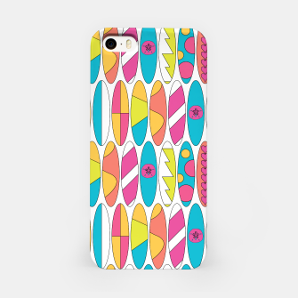 Imagen en miniatura de Rainbow Colored Waikiki Surfboards  iPhone Case, Live Heroes