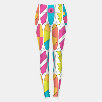 Imagen en miniatura de Rainbow Colored Waikiki Surfboards  Leggings, Live Heroes