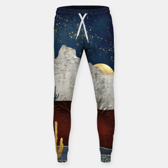 Thumbnail image of Moonlit Desert Cotton sweatpants, Live Heroes