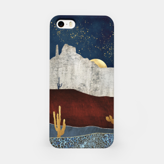 Thumbnail image of Moonlit Desert iPhone Case, Live Heroes