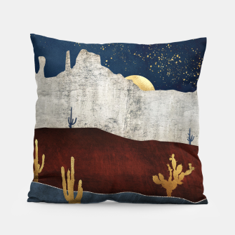 Thumbnail image of Moonlit Desert Pillow, Live Heroes