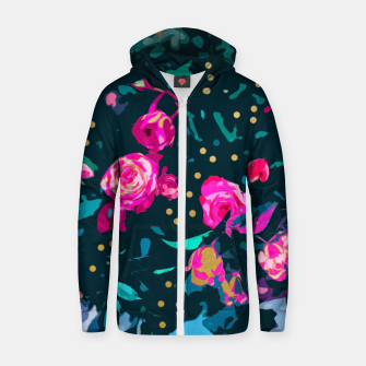 Thumbnail image of Lovely Secret Cotton zip up hoodie, Live Heroes