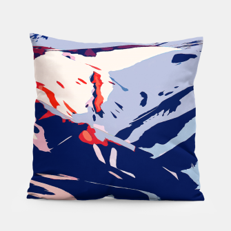 Thumbnail image of Winter Sunrise Pillow, Live Heroes