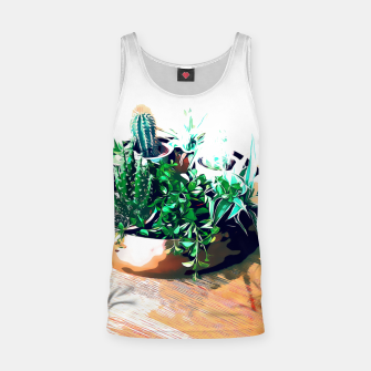 Thumbnail image of Cacti in a Copper Pot Tank Top, Live Heroes
