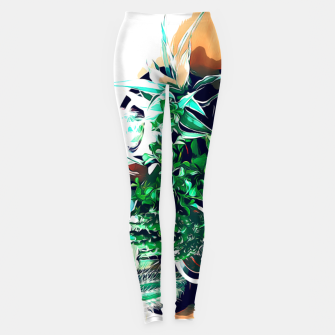 Thumbnail image of Cacti in a Copper Pot Leggings, Live Heroes