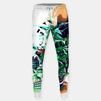 Thumbnail image of Cacti in a Copper Pot Cotton sweatpants, Live Heroes