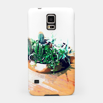 Thumbnail image of Cacti in a Copper Pot Samsung Case, Live Heroes